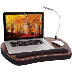 The Best Lap Desk Option: Sofia Sam Oversized Wood Top Memory Foam Lap Desk