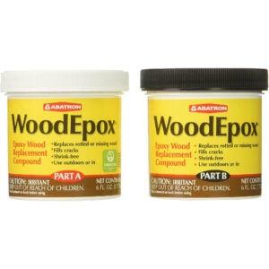 最好的可泡木选项:Fillerabatron WoodePox环氧木料替代化合物