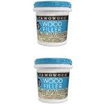 最好的不稳定木材选项:Fillerfamowood 40022126乳胶木填充物 - 品脱,自然