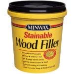 最佳的可锻造木材选项:Flinerminwax 42853000可锻造木材填充物,16盎司
