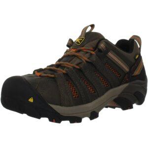 最好的钢铁鞋Option: KEEN Utility Men's Flint Low Steel Toe Work Shoe
