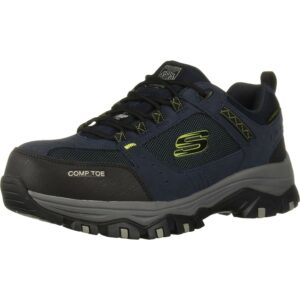 最好的钢铁鞋选择:Skechers Men's Greatah建筑鞋