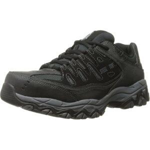 The Best Steel Toe Shoes Option: Skechers for Work 77055 Cankton Steel Toe Sneaker