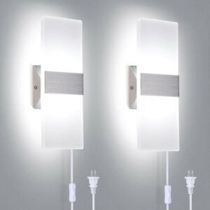 The Best Wall Sconces Option: TRLIFE Modern Wall Sconces Set of Two