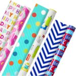 The Best Wrapping Paper Option: Hallmark Reversible Kids Birthday Wrapping Paper