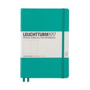 最好的子弹期刊选项:Leuchtturm1917中等A5虚线精装笔记本