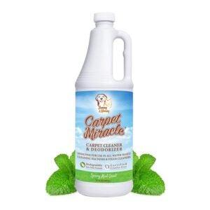 The Best Carpet Shampoo Option: Carpet Miracle - The Best Carpet Cleaner Shampoo