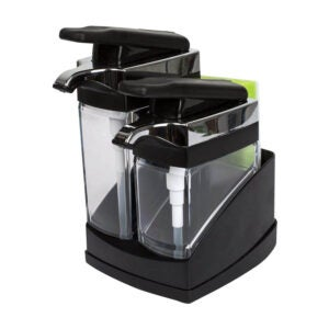 The Best Dish Soap Dispenser Option: Casabella Sink Sider Duo