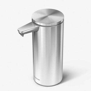 The Best Dish Soap Dispenser Option: simplehuman 9 oz. Touch-Free Rechargeable Dispenser