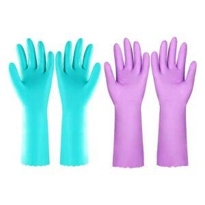 The Best Dishwashing Gloves Option: Elgood Reusable Dishwashing Cleaning Gloves