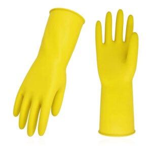 The Best Dishwashing Gloves Option: Vgo 10-Pairs Reusable Household Gloves