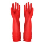 The Best Dishwashing Gloves Option: YSLON Rubber Cleaning Gloves