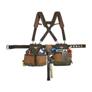 Opsi Sabuk Alat Framing Terbaik: Bucket Boss - Sabuk Alat AirLift dengan Suspender