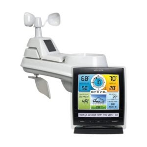 The Best Home Weather Station Option: AcuRite 01512 Home Station 5-in-1 Weather Sensor
