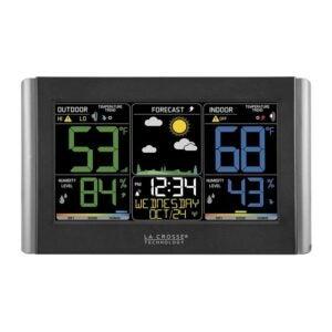 The Best Home Weather Station Option: La Crosse Technology C85845-1 Forecast Station