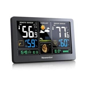The Best Home Weather Station Option: Newentor Weather Station Wireless Indoor Outdoor