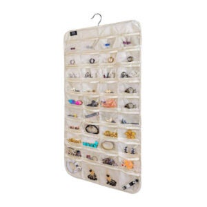The Best Jewelry Organizer Option: BB Brotrade HJO80 Hanging Jewelry Organizer