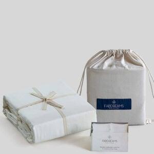 The Best Organic Sheet Option: Fabdreams 100% Organic Cotton King Ivory Sheet Set