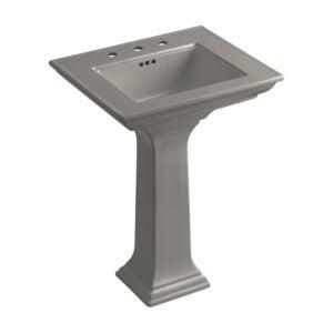 The Best Pedestal Sink Option: KOHLER Memoirs Ceramic Pedestal Sink with Overflow
