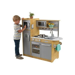 最好的游戏厨房选择:Kidkraft 53298 Uptown Natural Kitchen