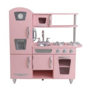 最好的游戏厨房选项:粉红色的Kidkraft葡萄酒厨房