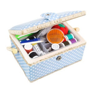 The Best Sewing Kit Option: Sewkit Large Sewing Basket with Accessories
