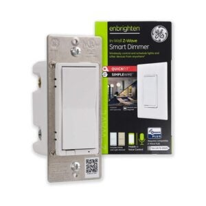 The Best Smart Dimmer Switch Option: GE Enbrighten Z-Wave Plus Smart Light Dimmer