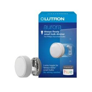 The Best Smart Dimmer Switch Option: Lutron Z3-1BRL-WH-L0 Aurora Smart Bulb Dimmer