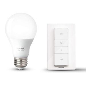 The Best Smart Dimmer Switch Option: Philips Hue Smart Dimming Kit