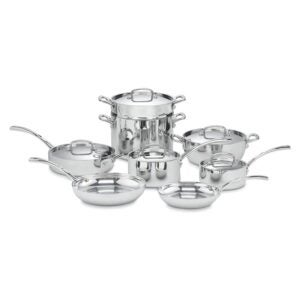 The Best Stainless-Steel Cookware Option: Cuisinart French Classic Tri-Ply Stainless Cookware