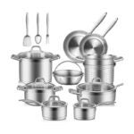 The Best Stainless-Steel Cookware Option: Duxtop Professional Stainless Steel Pots and Pans Set