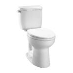 最好的厕所选项:Toto entinada两件圆形普通高度厕所
