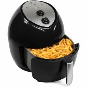 The Best Air Fryer Option: Paula Deen 9.5 QT (1700 Watt) Family-Sized Air Fryer