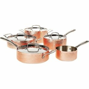 The Best Copper Cookware Option: Cuisinart Hammered Collection Cookware Set
