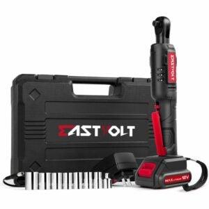The Best Cordless Ratchet Option: Eastvolt 12V Cordless Electric Ratchet Wrench Set