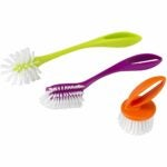 The Best Dish Brush Option: Casabella Loop 3-Piece Dish Brush Set