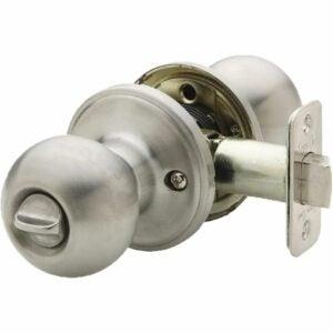 The Best Door Handles Option: Copper Creek BK2030SS Ball Privacy Door Knob