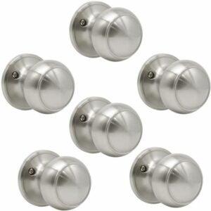 The Best Door Handles Option: Probrico (6 Pack) Classic Closet Dummy Door Knob