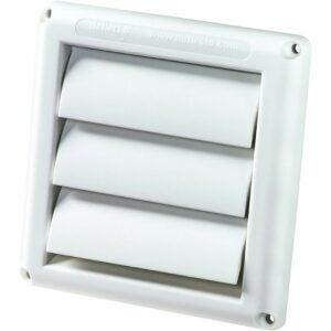 The Best Dryer Vent Option: Deflecto Supurr-Vent Louvered Outdoor Dryer (HS4W/18)