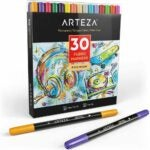 The Best Fabric Markers Option: Arteza Fabric Markers, Set of 30 Assorted Colors