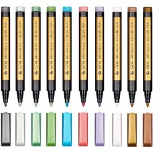 最好的面料标记选项:Dyvicl金属标记涂料标记钢笔