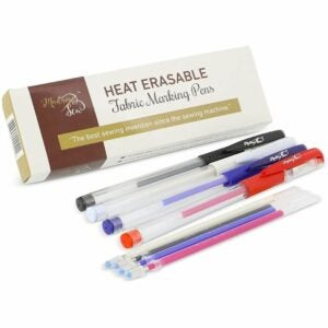 The Best Fabric Markers Option: Madam Sew Heat Erasable Fabric Marking Pens