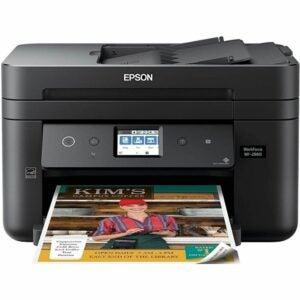 最好的传真机选项:EPSON Workforce WF-2860一体式无线打印机