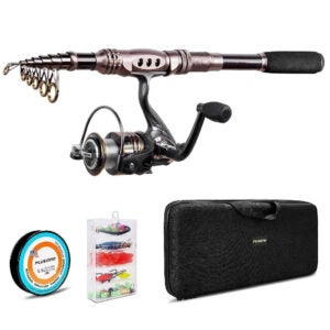 The Best Fishing Rod Option: PLUSINNO Carbon Fiber Telescopic Fishing Rod and Reel
