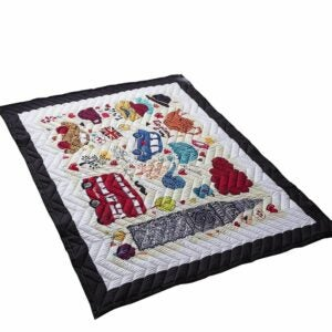 儿童最好的地板垫选择:Beebeerun棉质爬行垫