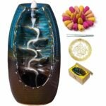 The Best Incense Option: INONE Backflow Incense Burner Waterfall