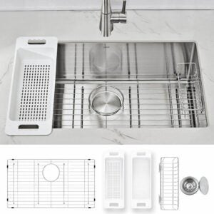 The Best Kitchen Sinks Option: Zuhne Modena Undermount Stainless Single Bowl