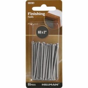 The Best Nails for Hanging Pictures Option: Hillman 592301 Polished Finishing Nails