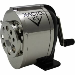 The Best Pencil Sharpener Option: X-ACTO Ranger 1031 Wall Mount Manual Pencil Sharpener