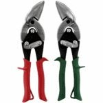 The Best Tin Snips Option: MIDWEST Aviation Snip Set - Left and Right Cut Offset